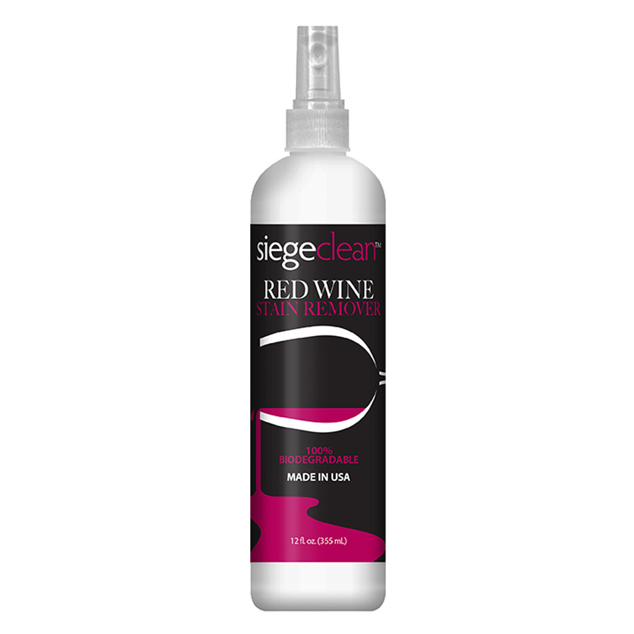 799 Red Wine Stain Remover Spray 12 Oz Siege Clean